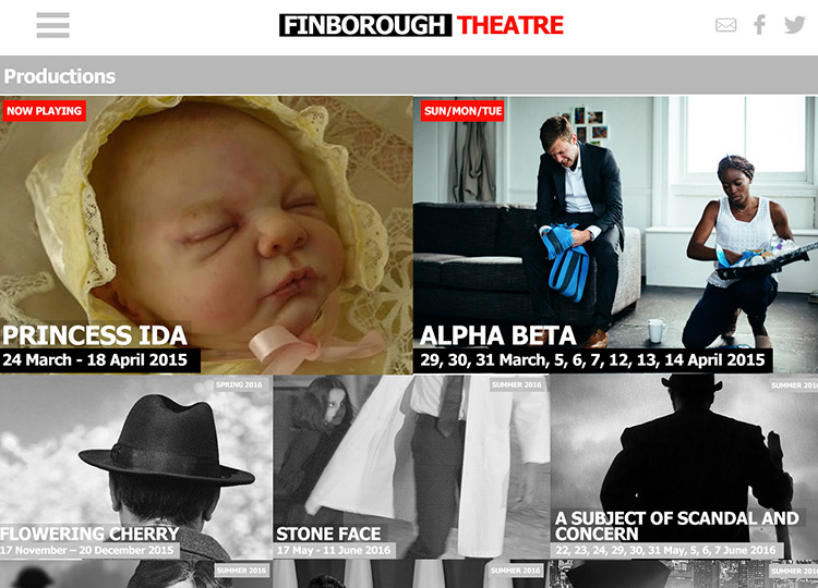 Finborough Theatre Website Thumb